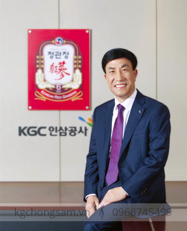 Ông Kim Jae-Su (CEO Tổng công ty nhân sâm Hàn Quốc – KGC)