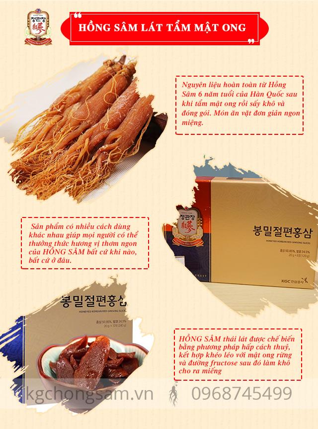 Ưu điểm vượt trội của HONEYED KOREAN RED GINSENG SLICES
