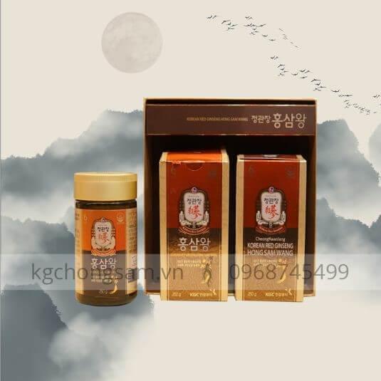 Hồng sâm Wang được yêu thích về những lợi ích tốt cho sức khỏe
